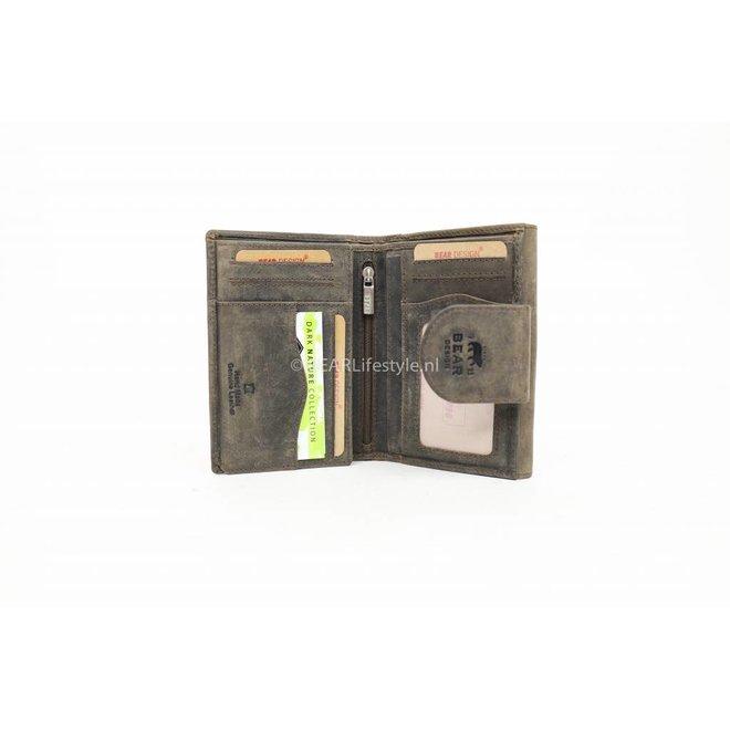 Portemonnee 'Jet' - Bruin HD8196 Groot