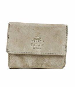 Bear Design Klein Lederwaren/Portemonnee - Elephant Grey CL14618