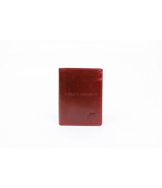 Bear Design Copy of VG7252 Billfold hoog - Cognac