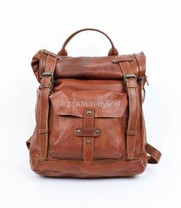 Bear Design CP1342 Rucksack 'Fabiana' Cognac