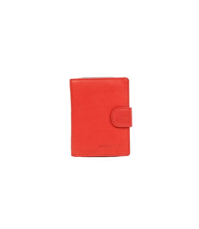 Bear Design Figuretta Ant-Skim Portemonnee/Pashouder Rood