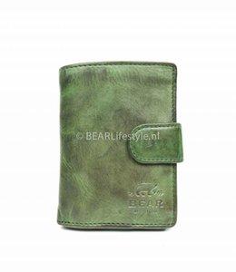 Bear Design CL15090 Antiskim wallet groen