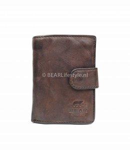 Bear Design CL15090 Antiskim wallet bruin