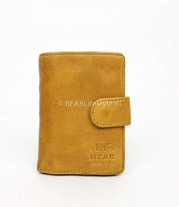Bear Design CL15090 Antiskim wallet geel