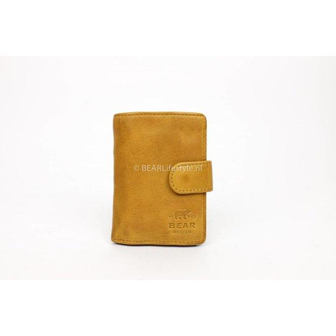 CL15090 Antiskim wallet geel