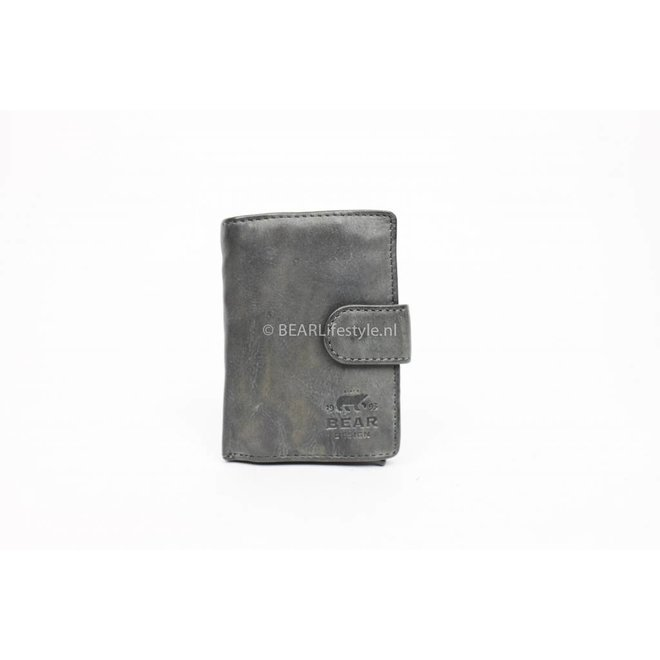 Bear Design - Figuretta Antiskim wallet grijs - RFID