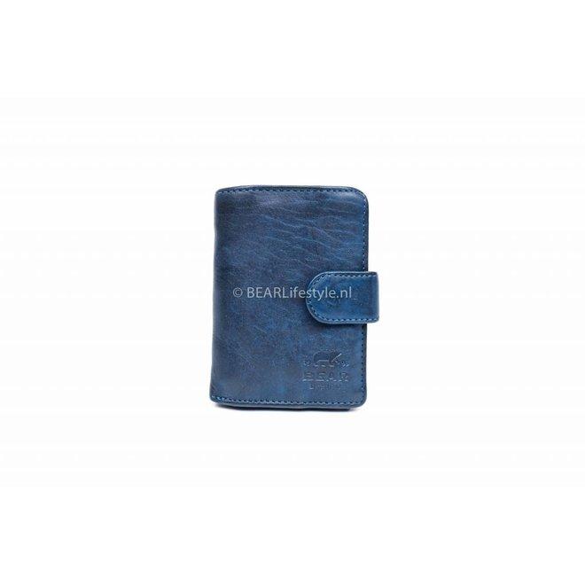 CL15090 Antiskim wallet blauw