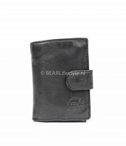 Bear Design - Figuretta Antiskim wallet Zwart - RFID