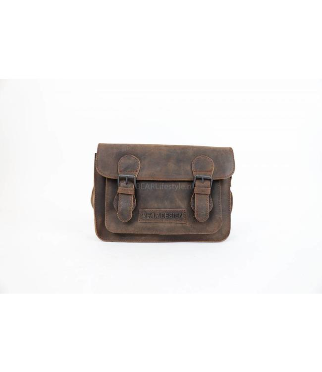 Bear Design Klein schoudertasje - SM30824 Choco