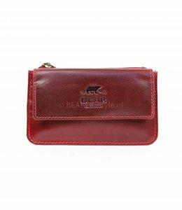 Bear Design Sleutel/Losgeld Portemonnee VG11097 Rood