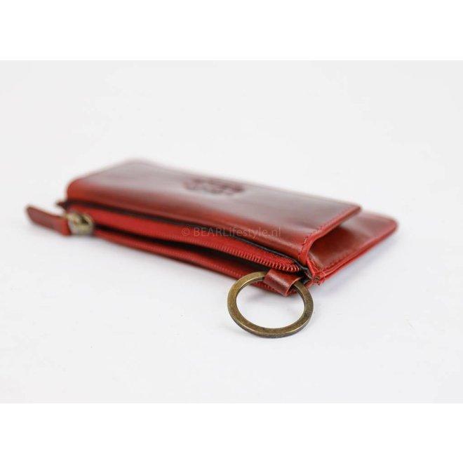 Sleutel/Losgeld Portemonnee VG11097 Rood