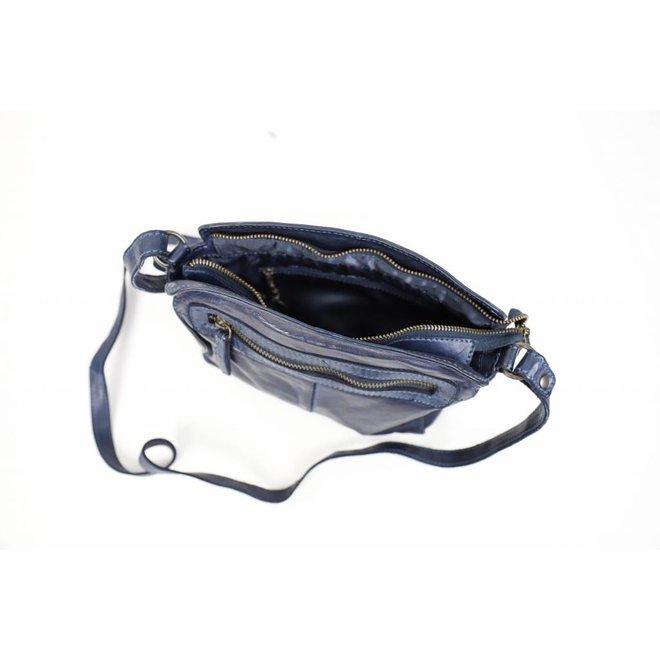 Schultertasche CL35735 Blau - 'Olivia'
