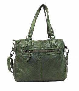 Bear Design Hand-/schoudertas CL35951 Olijf groen