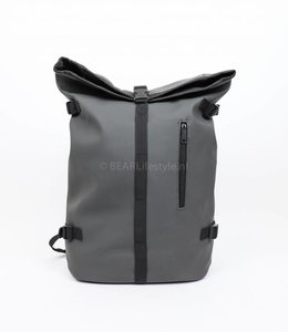 New Rebels Rucksack Waterproof -  Anthrazit 'Truckcloth'