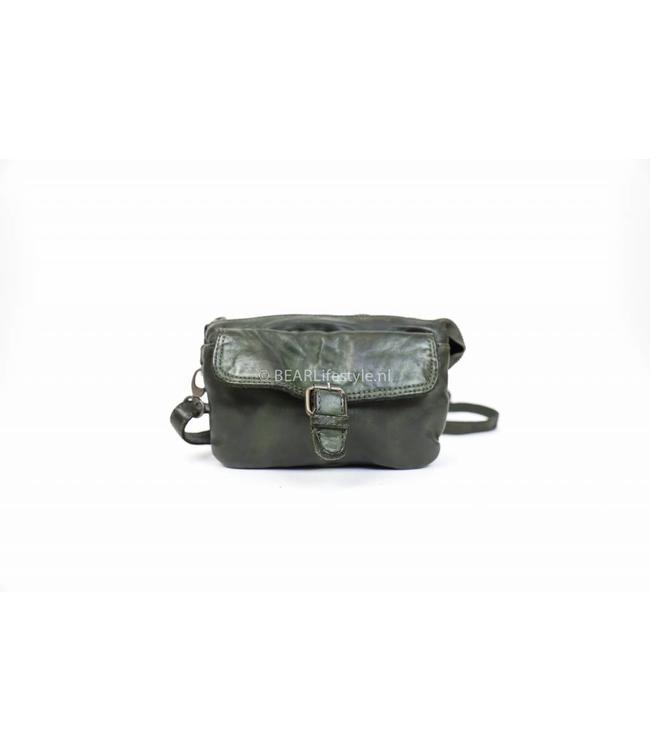 Bear Design Klein schoudertasje CL35033 Groen