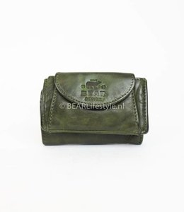Bear Design Mini Portemonnaie CL14914 Olivgrün