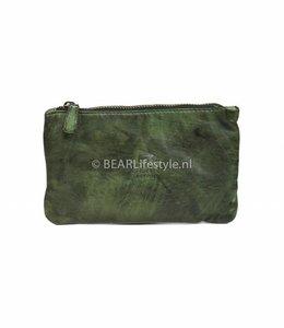 Bear Design Etui Grün - CL13130