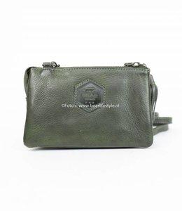 Bear Design Portemonnaie/-tasche Grün CP4887