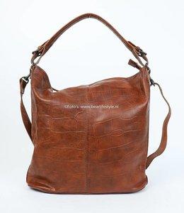 Bear Design Buideltas CP1299 'Sandra' - Croco Cognac