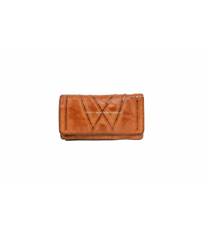 Bear Design Portemonnee CL15222 Cognac - Dames overslag