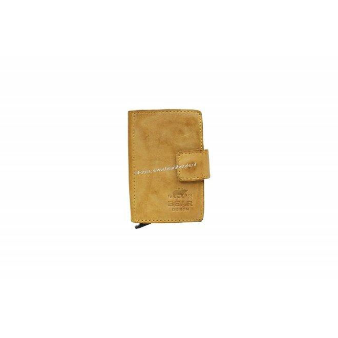 CL15254 Mini Portemonnee RFID - Geel Figuretta