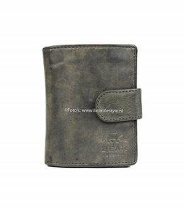 Bear Design CL15253 Portemonnaie RFID - Grau Figuretta