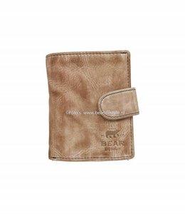 Bear Design CL15253 Portemonnaie RFID - Hazelnut Figuretta