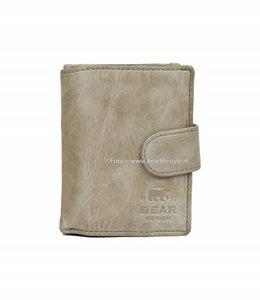 Bear Design CL15253 Portemonnaie RFID - Elephant Grey Figuretta