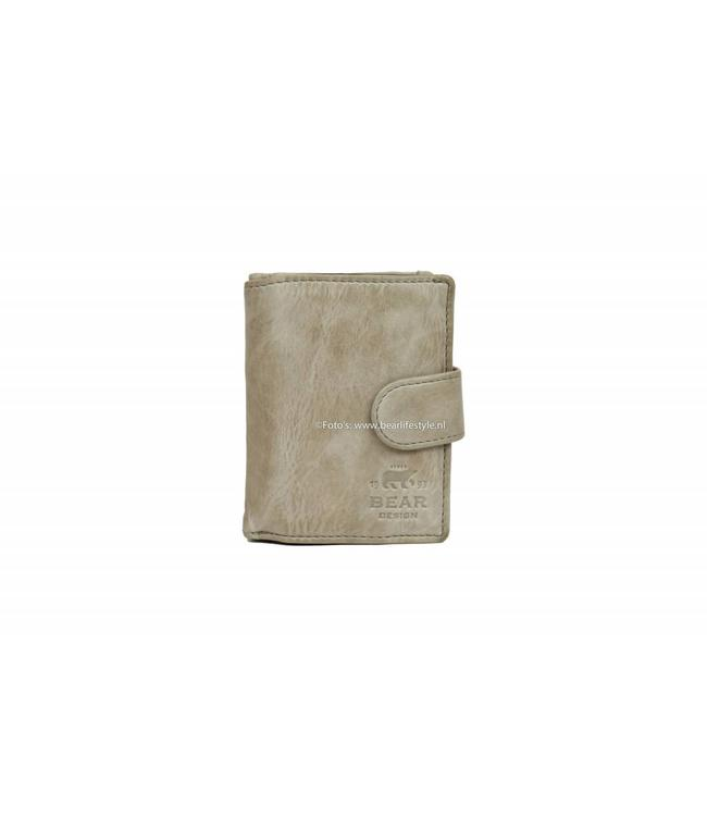 Bear Design CL15253 Portemonnaie RFID - Elephant Grey Figuretta