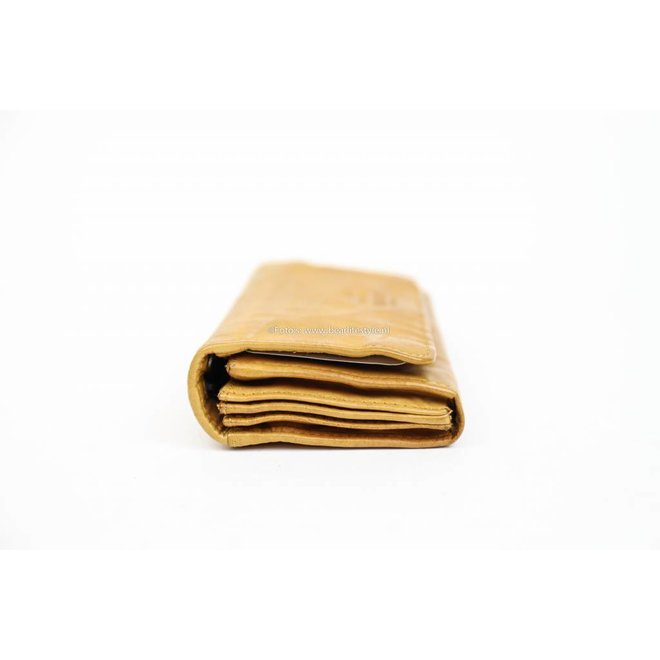Damesportemonnee Overslag CL9918 Oker geel