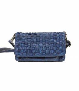 Bear Design Umhängetasche / Geldbörse CL13995 Blau
