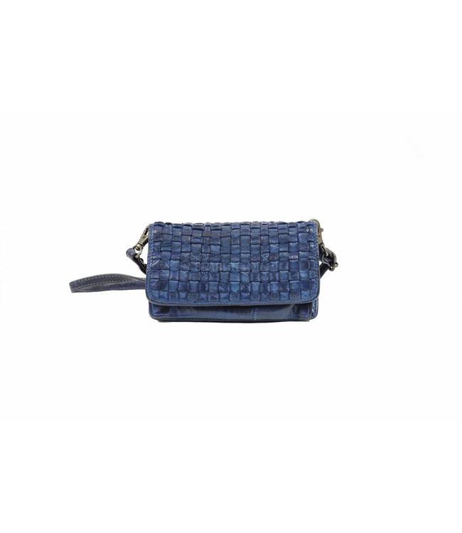 Bear Design Umhängetasche / Geldbörse CL13995 Gelb Blau