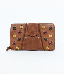 Bear Design Rits portemonnee Grizzly 11411 Cognac