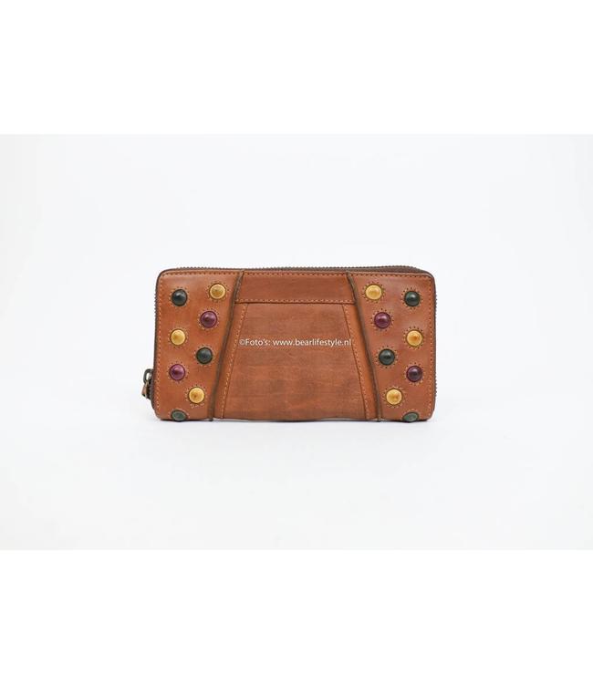 Bear Design Ritsportemonnee Grizzly 11409 Cognac