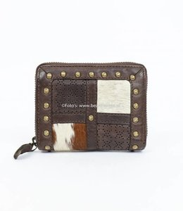 Bear Design Klein rits portemonnee Grizzly 11414 Bruin
