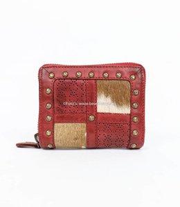 Bear Design Mini Portemonnaie Grizzly 11414 Rot