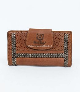 Bear Design Dames portemonnee Grizzly 11417 Cognac