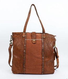 Bear Design Shopper/Schoudertas Grizzly 7151 Cognac