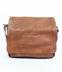 Bear Design Messenger bag CP1484 Cognac