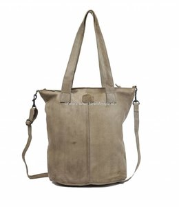 Bear Design Shopper met schouderband - Rino Grey CP2087
