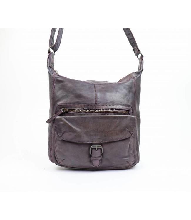 Bear Design CL32612 Lavender - Schoudertas 'Anna'