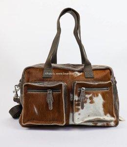Bear Design Hand/Schoudertas Cow - middelmaat HH3032-9 Bruin