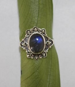 Josephina Unique Labradorite - sterling silver ring