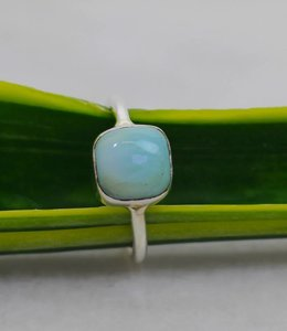 Josephina Classic Larimar - sterling silver ring