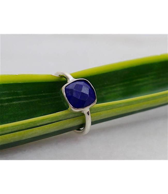 Josephina Elegant Lapis - sterling silver ring
