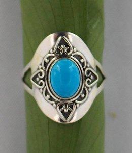Josephina Turqouise Lela - sterling silver ring