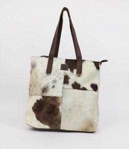 Bear Design Cow Shopper 'Linda' HH32637 Bruin