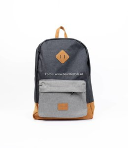 New Rebels Rucksack Schwarz - 'Creek' Serie