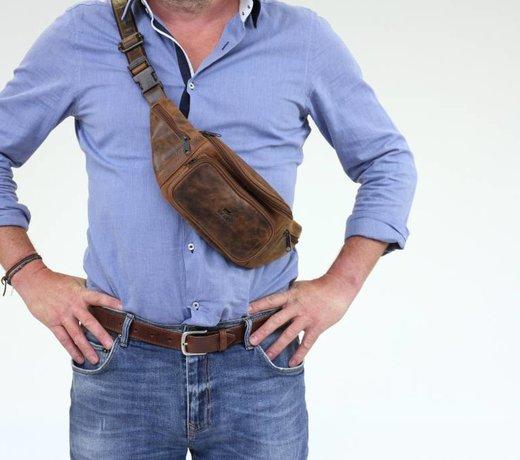 Leder Hüfttaschen