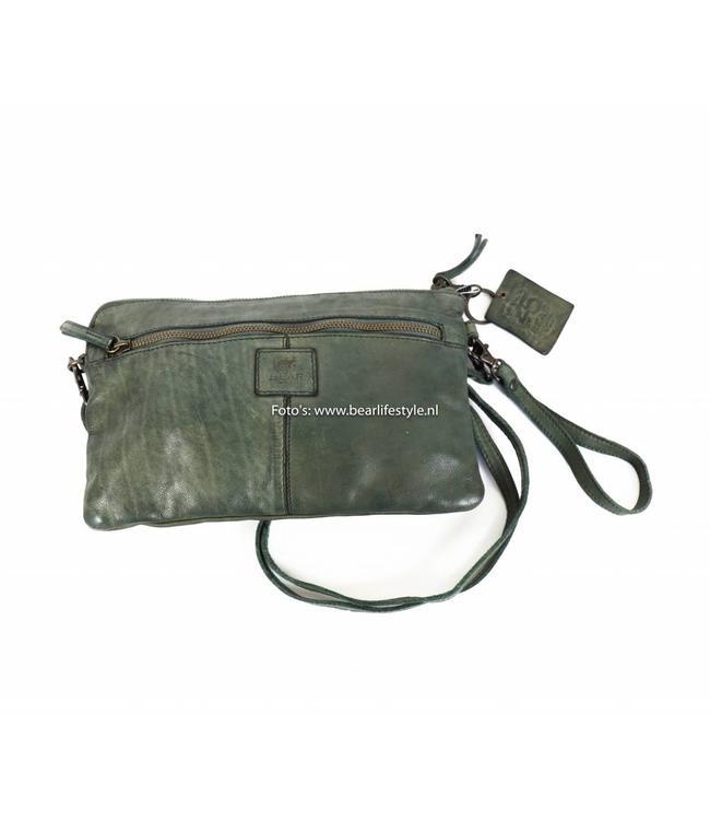 Bear Design Clutch/Schoudertasje 'Dori' - CL 36222 Clay